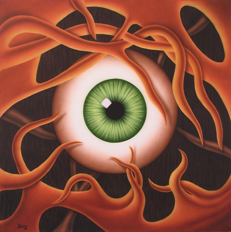 Auge, Kunst, Malerei Gemälde Painting