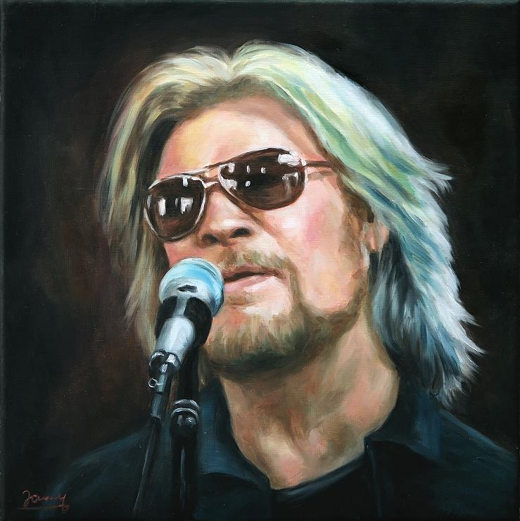 Daryl Hall Portrait Oil Painting