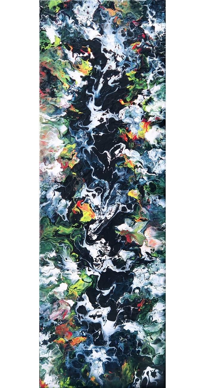Fluid Painting Art Abstrakt Kunst