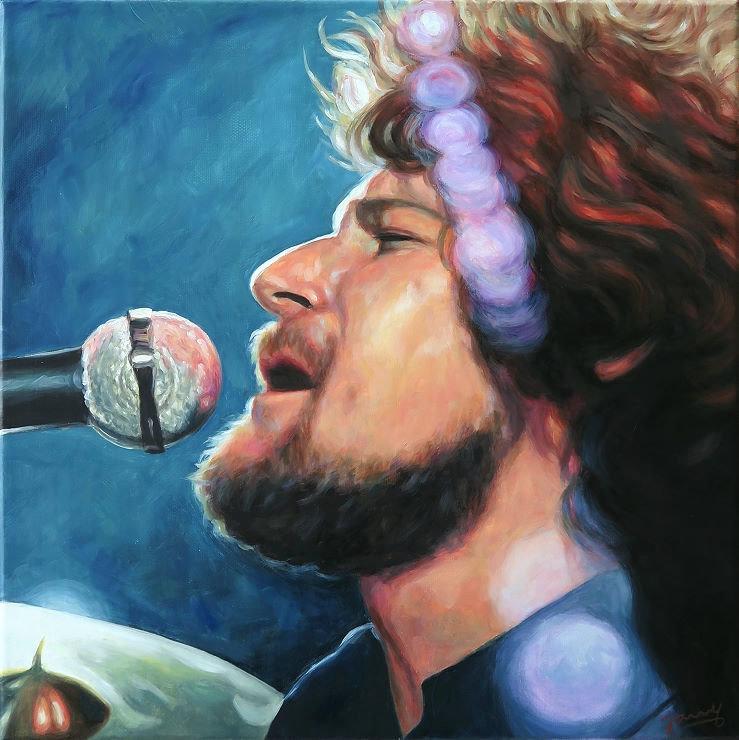 Don Henley Eagles Art Portrait Painting