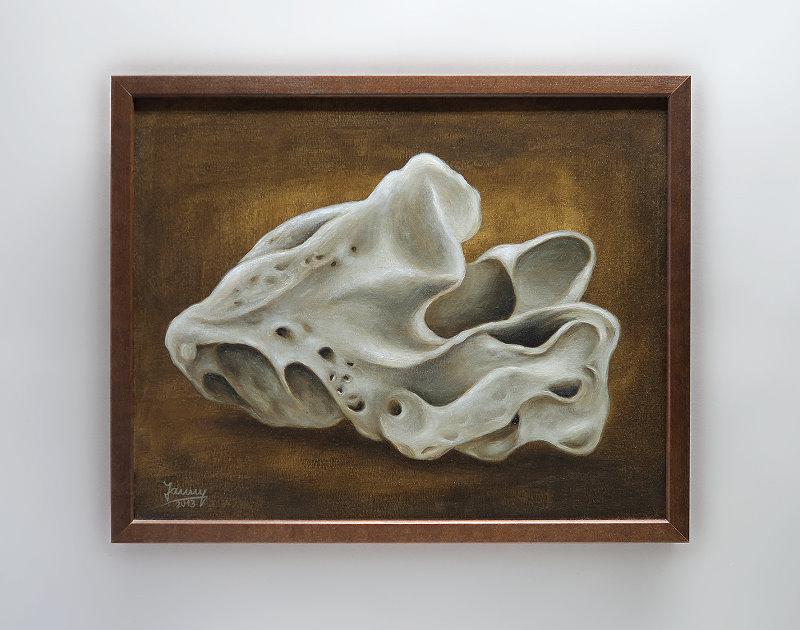 Stein Gemälde Kunst Malerei modern